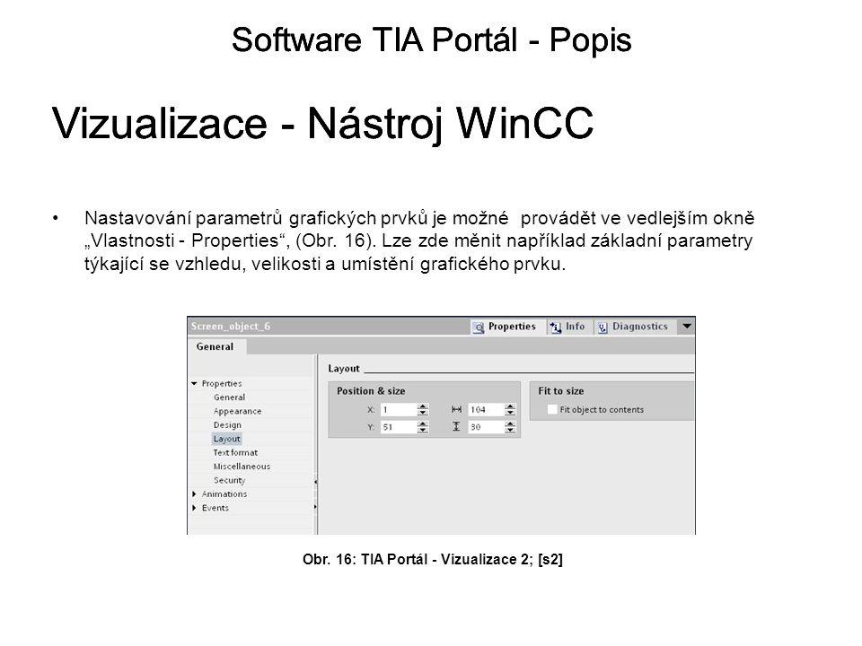 Obr. 16: TIA Portál - Vizualizace 2; [s2]